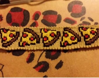 Pizza Friendship Bracelet