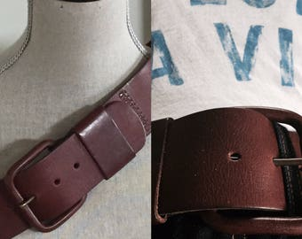 Vintage Leather Belt ... Free Shipping ... 10% Off Coupon SAVE10