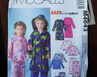 pajama sewing pattern McCalls 6310