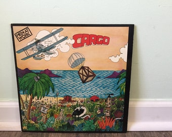 "Men At Work ""Cargo"" vinyl record"