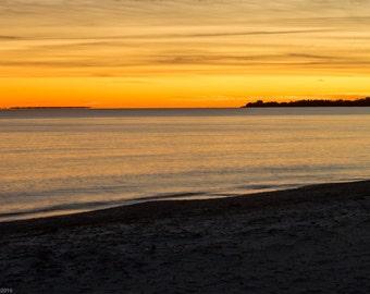 Surf Drive Beach Falmouth Cape Cod Sunset, Cape Cod Artwork, Cape Cod Beach Photo, Cape, Cape Cod Canvas, Cod Sunset Artwork