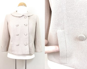 1960s Vintage Jacket / Peacoat / Wool / 1960s Blazer / Cute