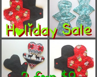 Random Print Holiday Sale! Choose your size/absorbency