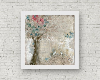 """Art Print of Original Mixed Media - """"Beauty in the Everyday"""""""