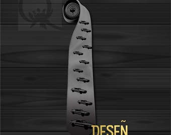Cars Pattern Men's tie Necktie Graphic print