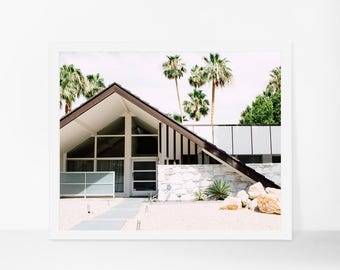 Palm Springs Photography, Mid Century Modern Architecture, Mid Century Home Decor, Palm Springs Print, California Art, California Print