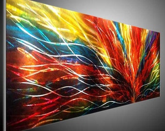 Original Abstract Sculpture Wall Art. Metal Wall Art. Metal Painting Wall. Wall Hanging DECO