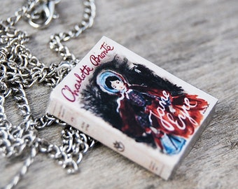 Jane Eyre's book necklace