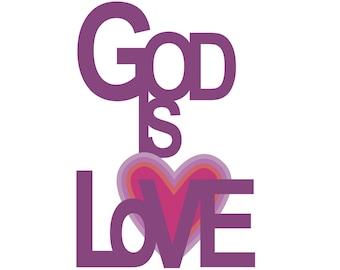 God Is Love Art