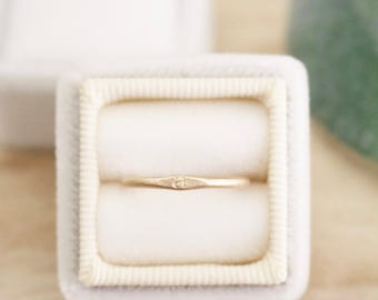 Gold initial stacking ring, stacking ring, initial ring, personalized ring, stacker, ring, rings, gold ring, stamped jewelry, stamped ring