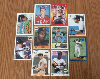 50 San Francisco Giants Baseball Cards