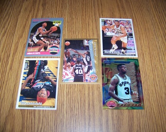 25 San Antonio Spurs Basketball Cards