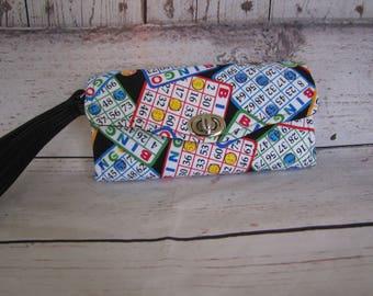 Bingo Wristlet Wallet