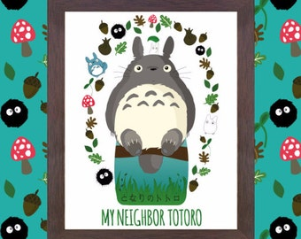 Studio Ghibli Prints Mix