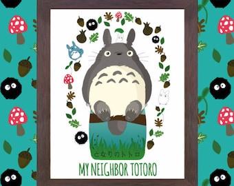 Studio Ghibli Prints Mix