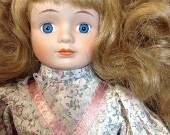 Doll vintage Germany. Porcelain