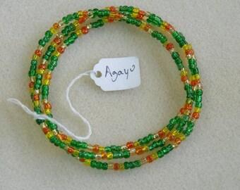 Orisha Necklaces Agayu, Osain, Nana Buruku