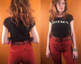 Vintage Bermuda fitted ladies tee