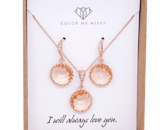 Rose Gold Champagne Glass drop Earrings - gifts for her, earrings, bridal gifts, pink rose gold weddings, bridesmaid earrings jewelry