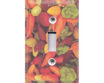 Fiesta Collection - Chili Peppers Light Switch Cover