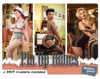 2017 Pin-Up Babes Calendar!