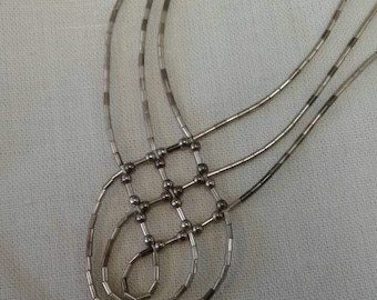 Classic Liquid Silver Sterling Silver Necklace
