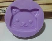 Silicone rubber mold, kitten kawaii