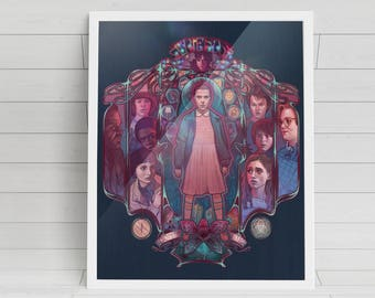 "Friends Don't Lie - 'Stranger Things' signed poster - 11""x14"""