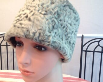Cossack hat, lambs fur and faux fur