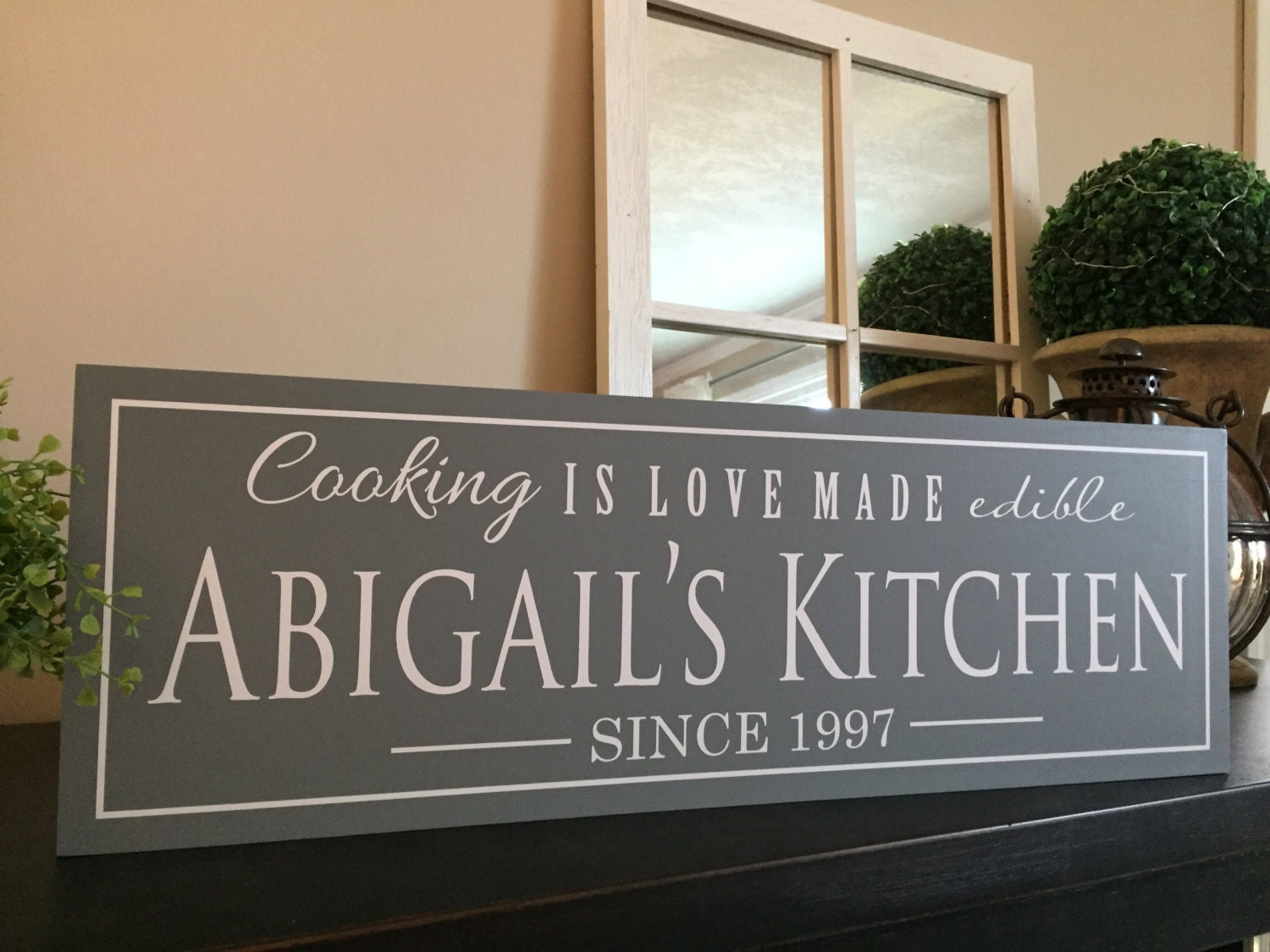 Wooden signs meme gifts kitchen decor dining room wall art for Kitchen decoration signs