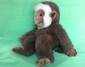 Gund Monkey Gorilla Plush Stuffed Animal Collectors Classics Limited Edition made in Korea 1983