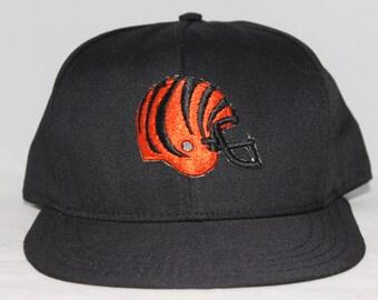 Vintage Cincinnati Bengals AJD NFL Snapback Hat