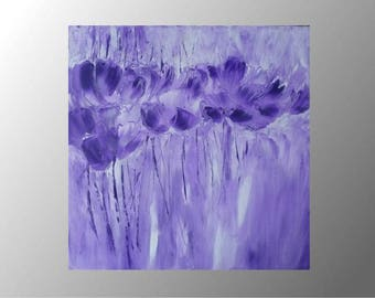 original painting abstract flowers