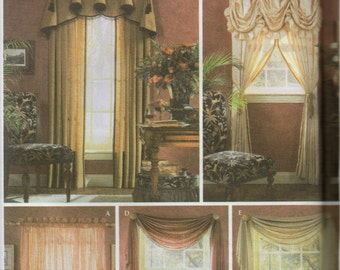 Simplicity Pattern 5058 VICTORIAN ShowHouse WINDOWS