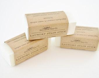 Laundry Stain Sticks by Soul Shine Soap Company / Winterport, Maine
