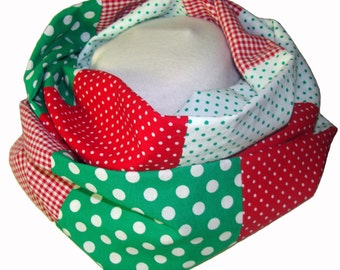 infinity scarf patchwork