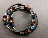 "Twisted bracelet ""Glamour"""