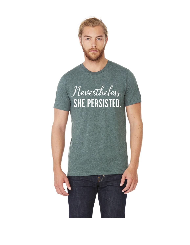 Design your own ethical t shirt - Nevertheless She Persisted T Shirt Feminist T Shirt Feminist Shirt Elizabeth Warren Shirt Women S March Shirt The Future Is Female