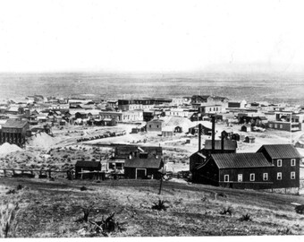 Tombstone, Arizona, 1881, Town View, Photo