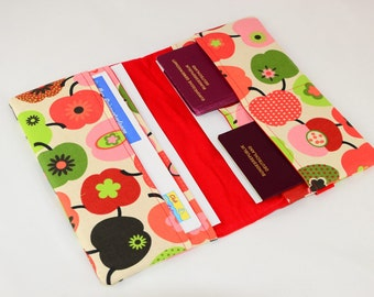 Travel case Red Green Apple