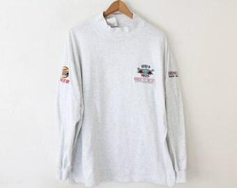 XLARGE Vintage 1993 Guns N Roses Embroidered Long Sleeve Shirt