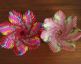 3D Origami Decorative Bowls