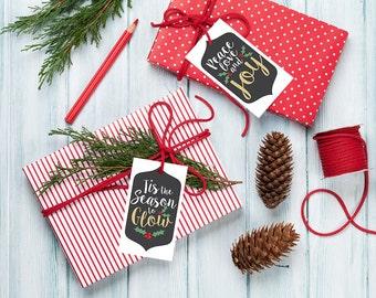 Rodan and Fields Gift Tags, Christmas Gift Tags Printable File