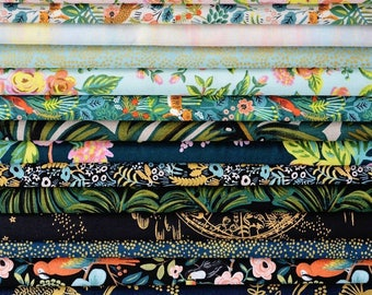 Pre-Sale- Fat Quarter Pack -Menagerie -Anna Rifle Bond for Cotton + Steel