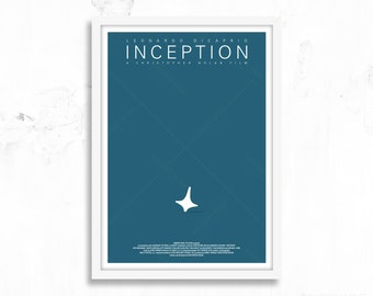 Inception - Totem Spinning Top - Movie Poster Print