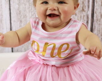 Baby girl first birthday outfit | First Birthday Dress Sleeveleess | 1st Birthday Girl Outfit Dress | one year old girl birthday outfit