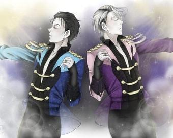 Stay Close to Me - Yuri! on Ice Print