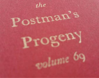 Postman - Small Funny Notebooks, Journals, Jotters, Cahiers