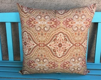 Decorative Pillow Covers 20x20 - Brown Pillow Cover - Brown Throw Pillow Cover - 0024