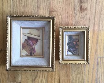 Vintage Pair of Shadow Box Frames
